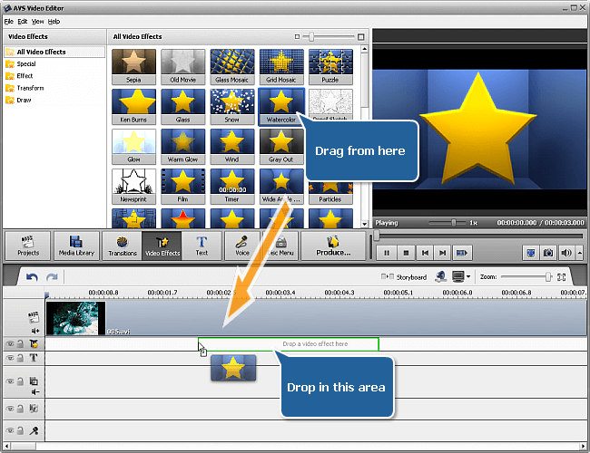 AVS Video Editor 9.4.4.375 With Crack + License And Activation Key Download (Full Version)
