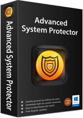 Advanced System Protector 2.3.1001.26092 Crack Plus License Key Download Updated