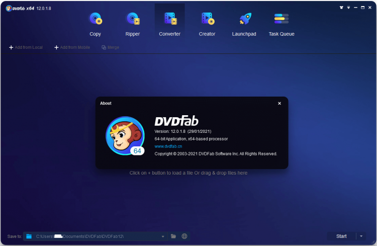 DVDFab 12.0.1.9 Full Crack With Keygen Free Download