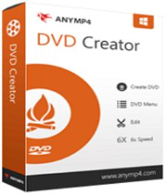 AnyMP4 DVD Creator 7.2.60 Crack With Serial Key Download
