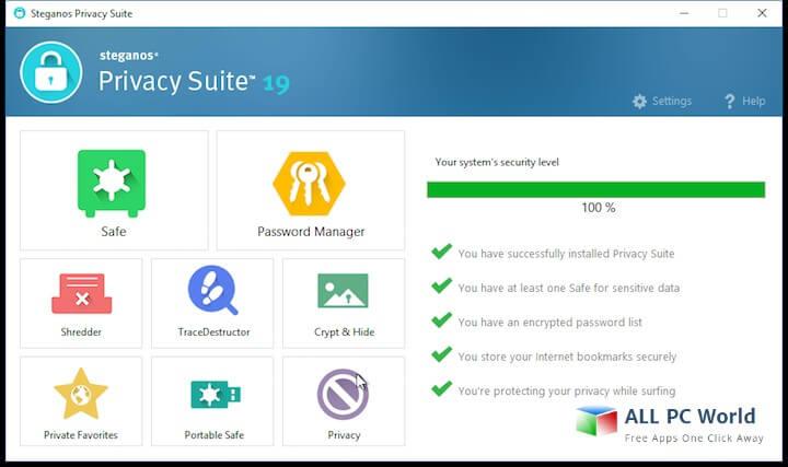 Steganos Privacy Suite 22.1.1 Crack With Keygen Download