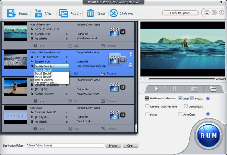 WinX HD Video Converter Deluxe 5.16.2 Crack With Key Download