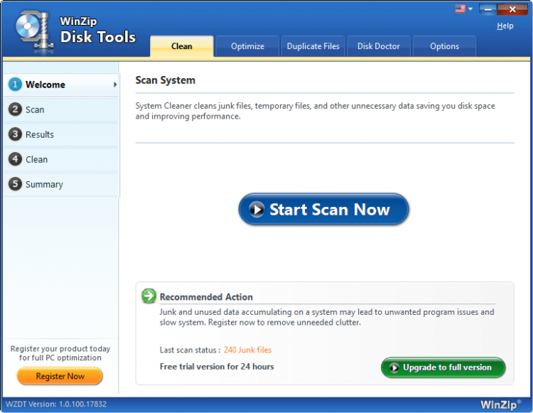 Winzip Disk Tools 1.0.100.18371 With Crack Download