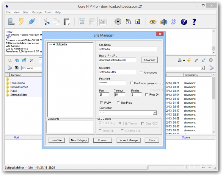 Core FTP Pro 2.2 Build 1960 Crack With Serial Key Download 2021