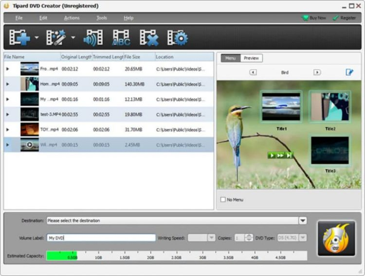 Tipard DVD Creator 5.2.58 With Crack Free Download