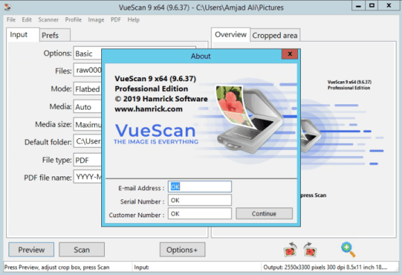 VueScan Pro 9.7.55 Crack With Serial Key Free Download
